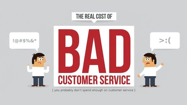 Wieso es euch zu viel Geld kostet, keinen herausragenden Service zu bieten [Infografik]