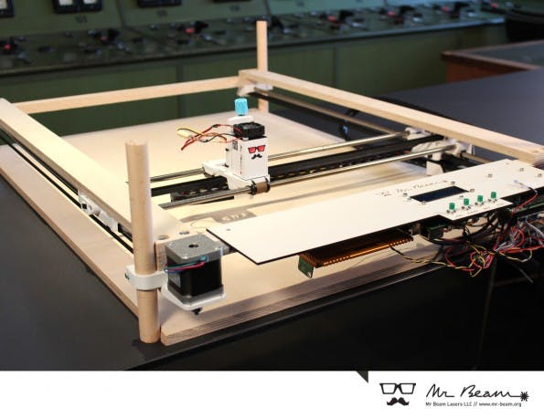 Mr Beam: Der Lasercutter findet sich auf Kickstarter. (Foto: Mr Beam)