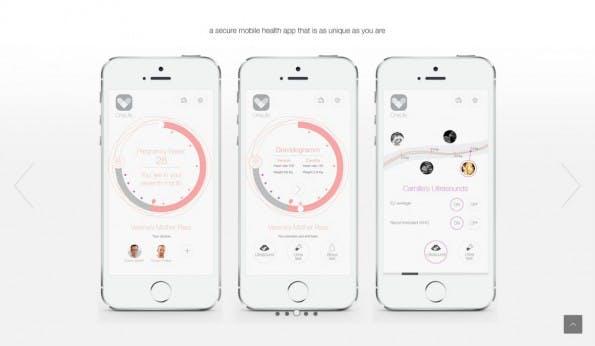 So sieht die elektronische Gesundheitsakte der Zukunft aus. (Screenshot: t3n)