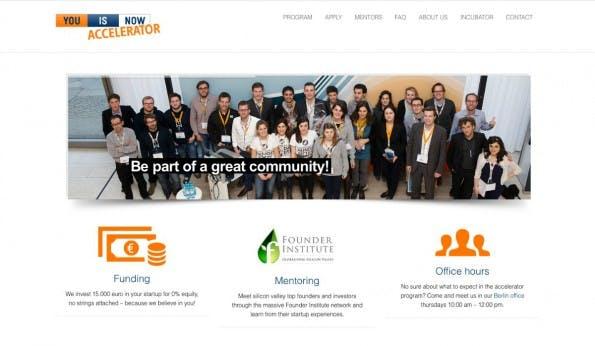 You Is Now gehört zu ImmobilienScout24 und damit zu einem der größten Internetunternehmen in Deutschland. (Screenshot: t3n)