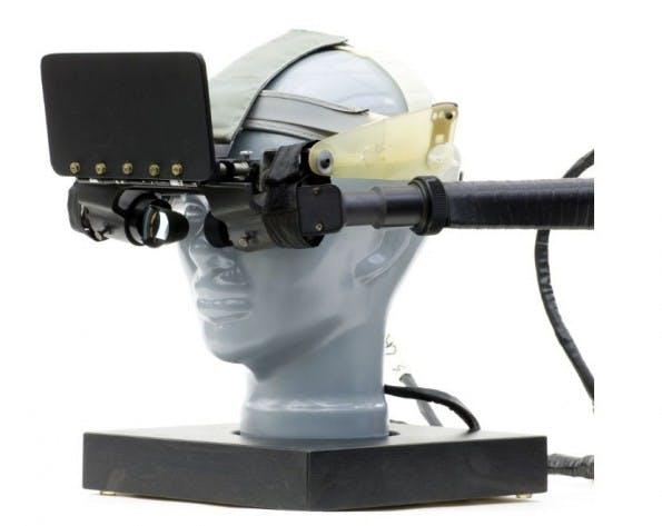 Virtual Reality aus dem Jahr 1968. (Bild: Mark Richards)