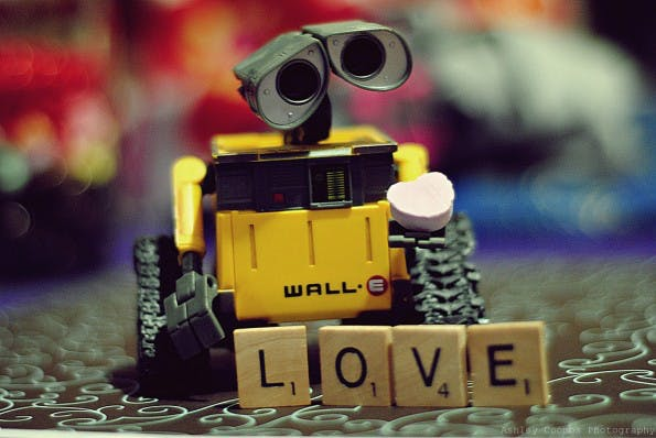 Anders als Disneys Wall-E sind echte Maschinen nicht zu Emotionen fähig. Foto: Ashley Coombs –  via flickr , Lizenz   CC BY ND 2.0