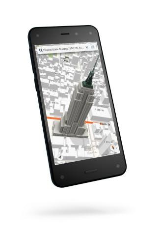 """Amazons Fire Phone: Schickes Smartphone mit Head-Tracking und der """"Kaufe alles was du siehst""""-Funktion (Quelle: Amazon.com)"""