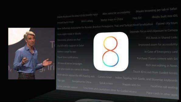 Dutzende neuer Features wurden bei der heutigen Keynote gar nicht besprochen. (Quelle: apple.com)