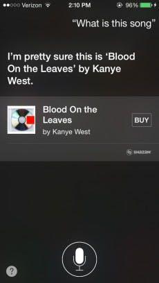 Shazam ist in iOS 8 in Siri integriert worden. (Quelle: 9to5mac.com)