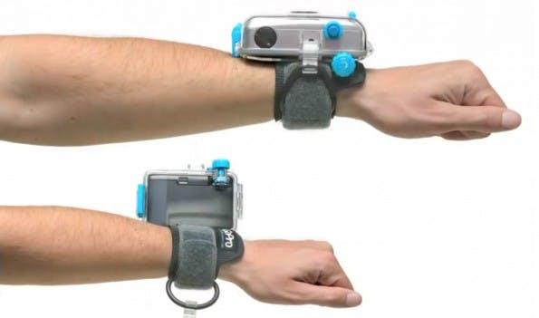 So sah der Vorläufer der heutigen GoPro-Kamera aus. (Screenshot: YouTube)