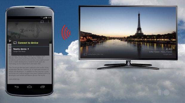 Chromecast: Android-Bildschirminhalte spiegeln und ohne WLAN verbinden