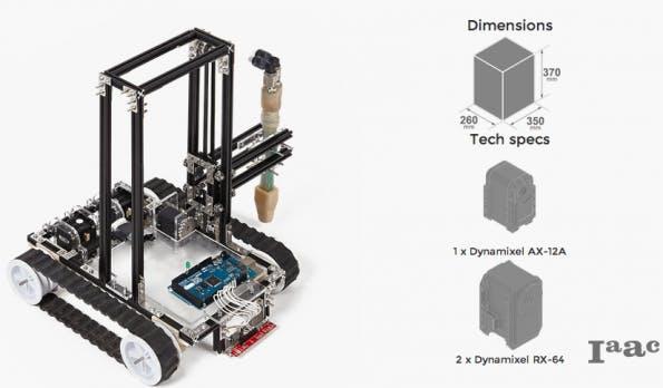 """Foundation Robot"" (Bild: Minibuilders)"