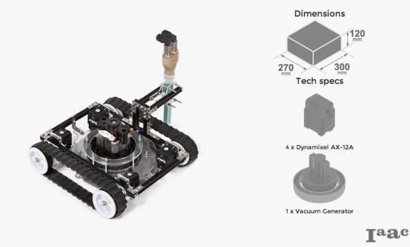 """""""Vacuum Robot"""". (Bild: Minibuilders)"""