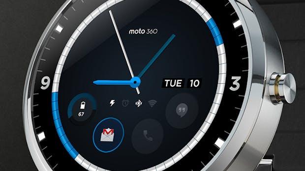Moto 360: Diese schicken Ziffernblätter könntest du schon in zwei Monaten am Arm tragen [Bildergalerie]
