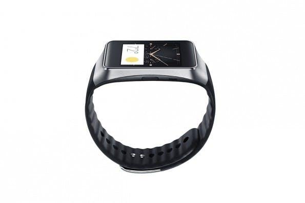 Die Samsung Gear Live verwendet Googles Android Wear als Betriebssystem. (Quelle: Samsung)