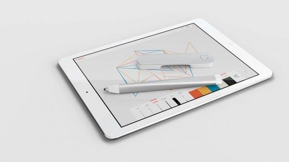 Mit seinen digitalen Zeichengeräten will Adobe Designer von den neuen iPad-Apps überzeugen. (Bild: Adobe)
