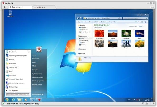 Bisher gibt es AnyDesk nur für Windows. Portierungen für iPad, Linux und Mac sind in der Mache. (Quelle: AnyDesk)