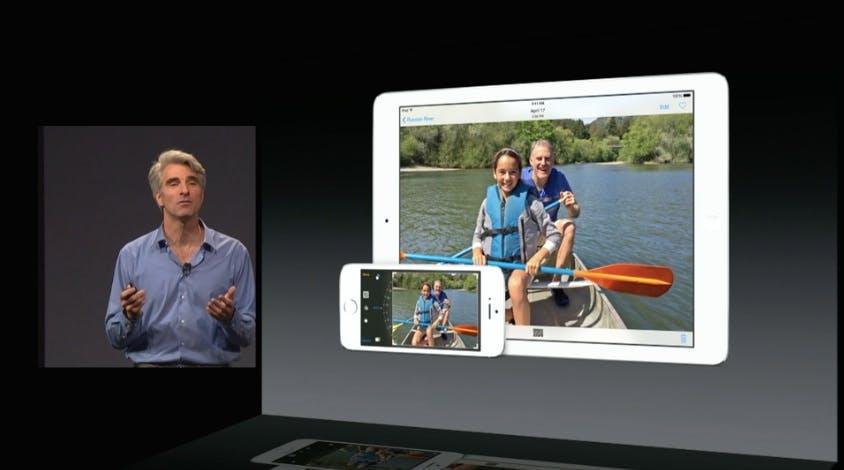 Neue Bildbearbeitungsfunktionen. (Screenshot: Apple)