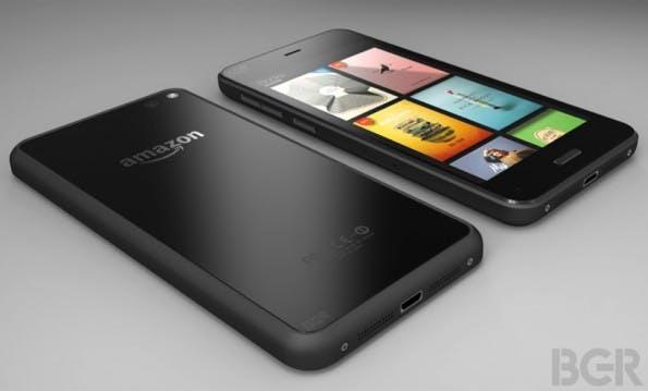 So könnte das erste Smartphone aus dem Hause Amazon aussehen. (Bild: BGR)