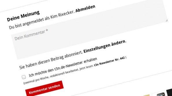 Content Marketing: Wenn niemand eure Beiträge kommentiert, wird es dafür Gründe geben. (Screenshot: t3n)