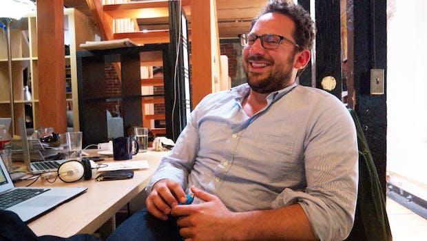 Feastly-Gründer Noah Karesh. (Bild: Andreas Weck)