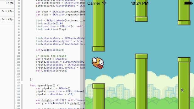 Swift: Flappy Bird in Apples neuer Programmiersprache nachgebaut