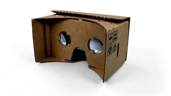 Google Cardboard: So simpel kann eine VR-Brille sein. (Foto: Google)