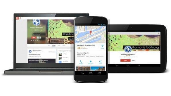 Unternehmenspflege mit Google My Business. (Quelle: Google)