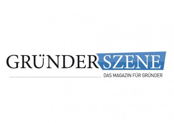 Gründerszene ist eines der bekanntesten deutschen Startup-Portale. (Logo: Gründerszene)