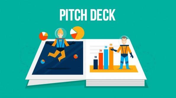 Mit einem Pitchdeck präsentieren Gründer ihre Geschäftsidee vor Investoren, Partnern und Kunden. Doch wie geht's richtig? (Screenshot: t3n)