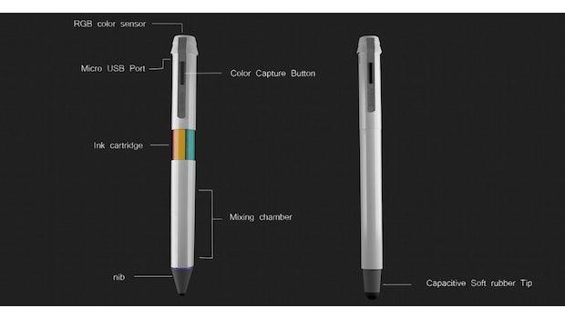 Scribble gibt es auch als Stylus. (Bild: Scribble)