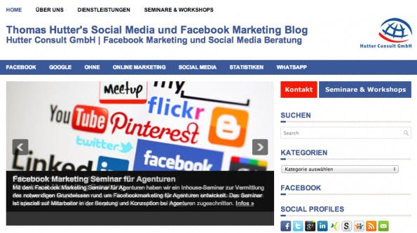 "t3n-Blogperlen – Social Media #4: ""Thomas Hutters Social Media Blog"""