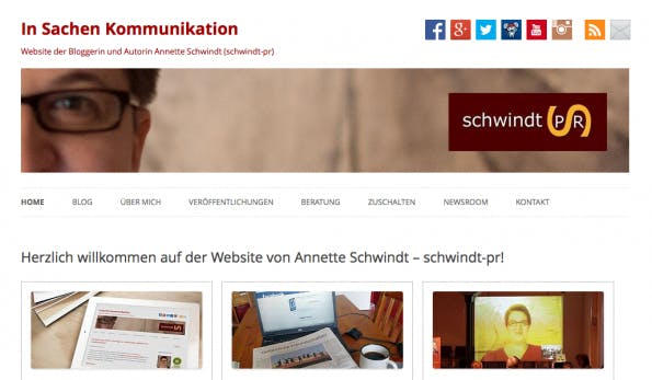 "t3n-Blogperlen – Social Media #6: ""Schwindt-PR Blog""."