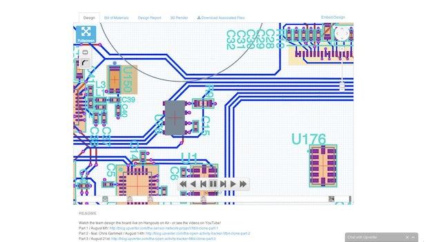 Upverter ist das GitHub für Hardware-Entwickler. (Screenshot: Upverter)