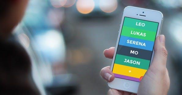 Eine App, die eigentlich nichts kann: Yo. (Bild: iTunes/Shapeit)