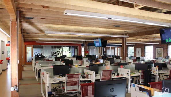 Einblick in das 99Designs-Büro in San Francisco. (Bild: Andreas Weck)