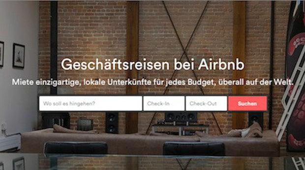 Business Travel: Airbnb öffnet sich für Geschäftsreisende