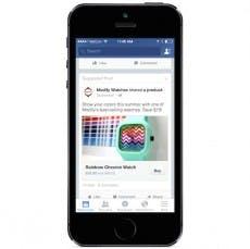Facebook am Smartphone: Buy Button im Test