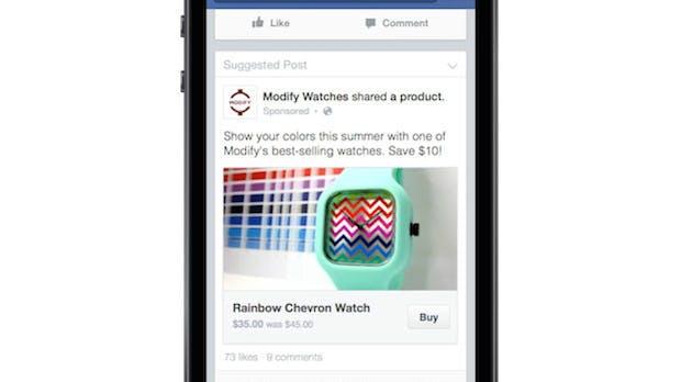 Facebook: Buy-Button soll E-Commerce für kleine Firmen verbessern