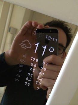 Magic Mirror: Spiegel zeigt Wetter und Nachrichten beim Zähneputzen – dank Raspberry Pi