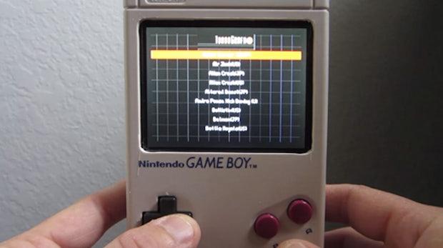 Super Pi Boy 64 Mega: Raspberry Pi macht alten Game Boy zur Retro-Spielemaschine