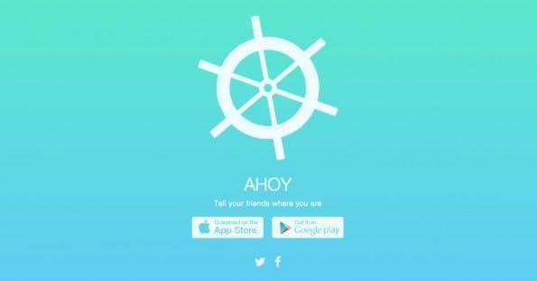 Ahoy ist da. (Screenshot: getahoy.com)