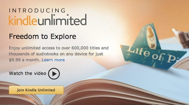 "Amazon startet E-Book-Flatrate: 10 Dollar pro Monat für ""Kindle Unlimited"""