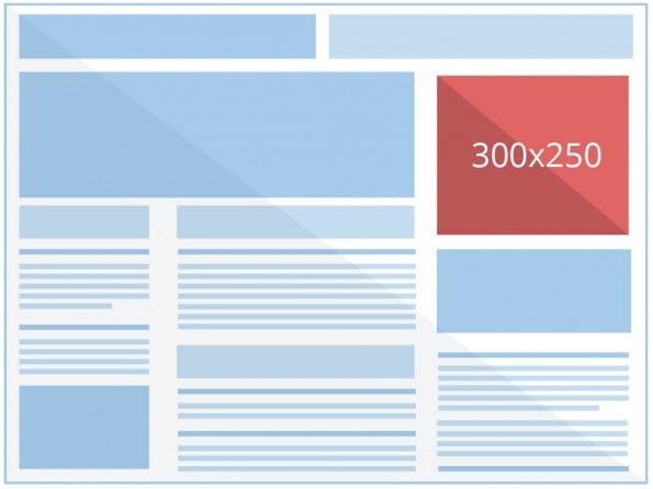Banner-Ads gibt es in verschiedenen Größen und Formen. (Grafik: Google)