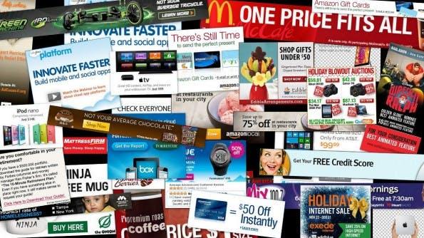 Banner-Ad: Die Form der Online-Werbung ist nach wie vor beliebt. (Grafik: Daniel Oines / Flickr Lizenz: CC BY 2.0)