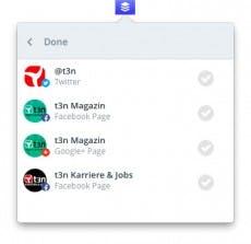 Buffer: Die OS-X-App lässt einige Funktionen vermissen. (Screenshot: t3n)