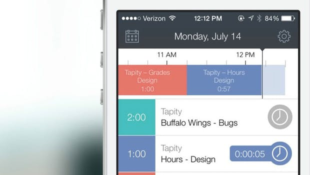Hours ist eine noch recht neue App, die allerdings schon jetzt einen überzeugenden Eindruck macht. (Bild: Hours)