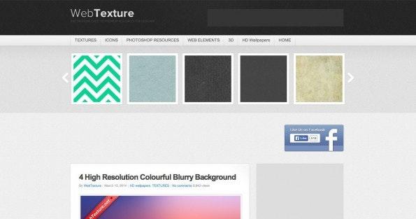 WebTexture ist eine gute Anlaufstelle für Texturen und Muster. (Screenshot: WebTexture)
