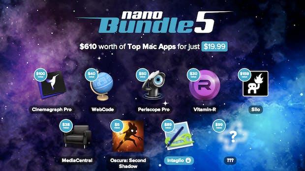 Von Design bis Produktivität: MacHeist verkauft Apps im Wert von 610 Dollar für 'nen Zwanni