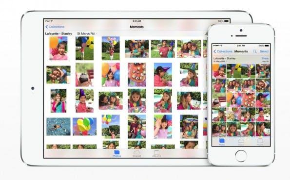 Photos wird nicht nur iPhoto für OS X und iOS ersetzen, sondern auch die Profi-Software Aperture. (Bild: Aplle)