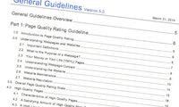 """10 Faktoren der """"Quality Rater Guidelines"""": So bewertet Google deine Website"""