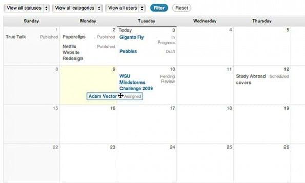 Content Marketing: Das Open-Source-Plugin Edit Flow bietet einige praktische Features. (Screenshot: Edit Flow)
