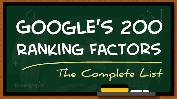 Praktische SEO-Hilfe: Diese 200 Faktoren haben Einfluss auf euer Google-Ranking