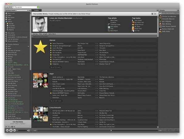 Spotify: Ein zentrales Musikarchiv für 10 Euro pro Monat. (Quelle: Bla)
